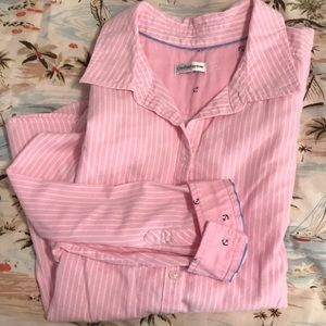 Pink Stripped Button Down